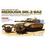 Merkava Mk.3 BAZ mit Nochri Dalet Mine Roller