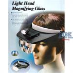 Kopflupe mit LED-Beleuchtung