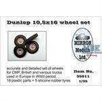 Dunlop 10,5 x 16 Wheel Set