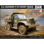 US diamond T972 Dump Truck, hard top cab