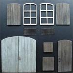 Türen, Fensterrahmen und Fensterläden 1:35