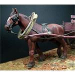 Ackergaul, Pferd  1:35