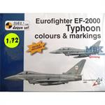 Eurofighter EF-2000 Typhoon Buch + Decals