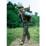 Mann / Zivilist, trägt einen Korb  1:35