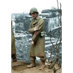 US GI verwundet 1944/45