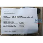 US Navy + USMC WWII Planes color set