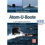 Typenkompass Atom-U-Boote USA, GB und F