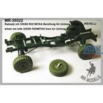Radsatz mit 335/80 R20 MITAS für Unimog U1300L