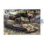 T-34 ZSU Flakpanzer mit Flak 38