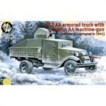 GAZ-AA armoured truck w/ Maxim MG