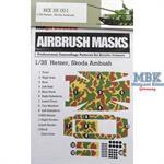 Hetzer Skoda Ambush Airbrush Mask