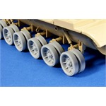 Road wheels for MBT M60 (Aluminium Cast Pattern)
