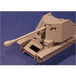 7,5cm PaK40 Barrel with Canvas Cover
