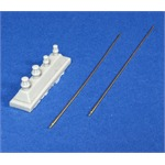 German 2m standard antenna set