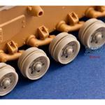 Pz.Kpfw III/StuG III burn out wheels
