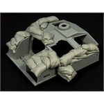 Sandbags armor for StuG III F8 (light set)