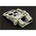 Sandbags armor for StuG III F8 (heavy set)