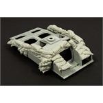 Sandbags armor for StuG III F8 (heavy set)