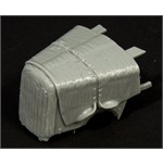 Opel 2500 engine deck with canvas cover