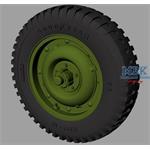 Willys MB Jeep roadwheels (Goodyear)