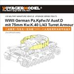 Panzer IV Ausf.D mit 75mm KwK L/43 Turret Armour (