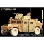 USMC M1114 Spaced Armour