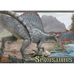 Spinosaurus Dinosaur + Xiphactinus