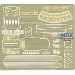 Refit Enterprise Photoetch Set (1:1000 scale)