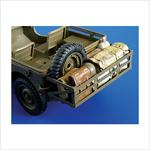 Pannier with cargo for Jeep