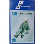 Nato Pilot, sitzend