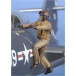 US Navy Pilot Boardering (Corean War)