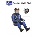 Russian Jet Pilot, sitzend