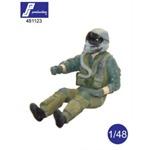 F-16, F/A-18 Pilot, sitzend