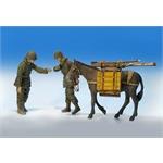 US Infantryman w/ mule