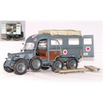 German ambulance Kfz. 31 - dt. Krankenwagen