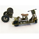 U.S. airborne scooter with reel