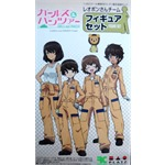 Girls und Panzer: Reopon-san Team Figure Set