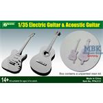 1/35 Eletric Guitar & Acoustic Guitar