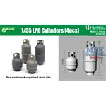 LPG Cylinders / Gasflaschen 4pcs  1/35