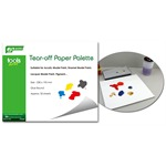 Tear-off Paper Palette, Spezialpapier für Bemalung