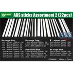 ABS Sticks Assortment 2 / Plastiksortiment
