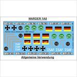 Deutsche ISAF Markierungen mit Marder 1A5 Markieru