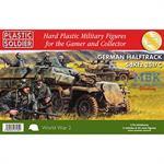Sd.Kfz 251/C Haltrack Variants - 3 St.+ 21 Figuren