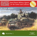 Easy Assembly M4A1 Sherman 75mm - 3 Stück
