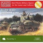 Easy Assembly M4A1 Sherman 75mm - 3 Stück