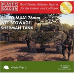 Easy Assembly M4A1 Sherman 76mm - 3 Stück