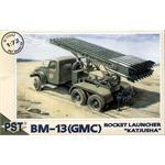 'Katjusha' Rocket launcher BM-13 on GMC chassis