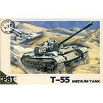 T-55 medium tank