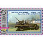 Soviet AA SPG 72-K/GAZ-MM