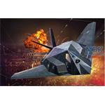 Lockheed Martin F-117A Nighthawk Stealth Fighter